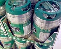 Heineken's Beer Gallons